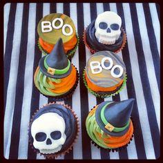 Halloween Cupcakes - Beanie's Bakery