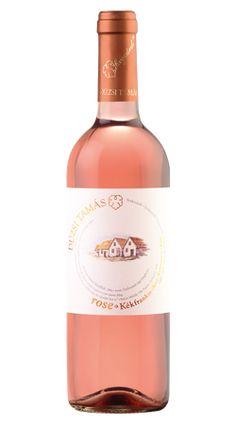 Dúzsi Kékfrankos Rosé 2011 Szekszárd - a ROZÉ Hungary, Bottle, Rose, Wine, Pink, Flask, Roses, Jars