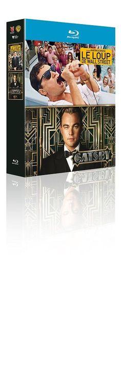 Gatsby le magnifique + Le loup de Wall Street  BLU-RAY - NEUF