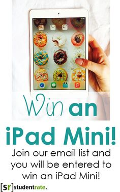 On May 15th, one of our members will be chosen to win an iPad Mini!