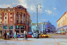 Alexey Shalaev 'Sun at Manezhnaya Street'