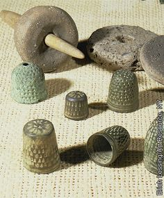 Sewing Implements from the 1st or 2nd century (possibly what Paul used for Tent making)