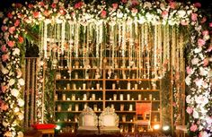 Browse photos, outfit & decor ideas & vendors booked from a real North Indian Wedding Modern & Stylish wedding in Delhi NCR. Choosing A Wedding Theme, Indian Wedding Planning, Wedding Mandap, Wedding Stage, Wedding Events, Wedding Entrance, Entrance Decor, Wedding Chairs, Wedding Receptions