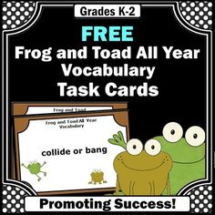 Frog and Toad Are Friends - Chapter 1 - Spring - Pinterest
