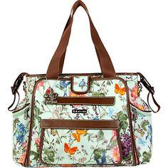 Love this new Springtime Nola Tote Diaper Bag from Kalencom!