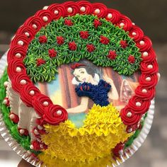 Image may contain: 2 people Disney Princess Birthday Party, Birthday Cake Girls, Birthday Cupcakes, Crazy Cakes, Fancy Cakes, Bolo Barbie, Character Cakes, Girl Cakes, Buttercream Cake