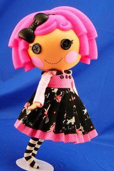 Lalaloopsy Doll Polly Goes To Paris  3 Piece Darling by nippykat, $17.00