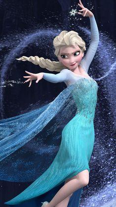 Frozen Ice Princess #iPhone #5s #wallpaper