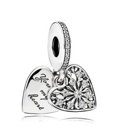Pandora Heart Of Winter Dangle CZ Charm Sale