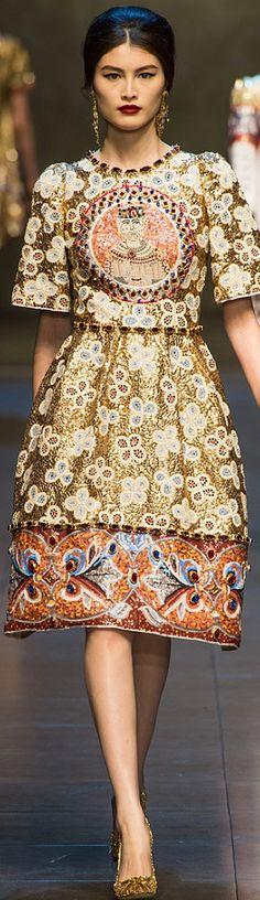 Dolce & Gabbana Fall 2013 rtw collection  via Très Haute Diva