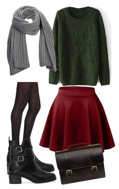 Untitled #670 by officialnat on Polyvore featuring polyvore, fashion, style, LE3NO, With Love From CA, Pull&Bear, Beara Beara, SELECTED and clothing