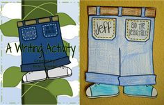 Jack and the Beanstalk inspired writing activity and craftivity