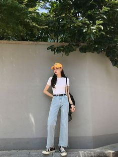 Gorgeous Clothes on korean fashion outfits 904 Source by diana_antonova outfits korean Korean Girl Fashion, Korean Fashion Trends, Korean Street Fashion, Korea Fashion, Kpop Fashion, Asian Fashion, Fashion Outfits, Ulzzang Fashion Summer, Fashion Ideas