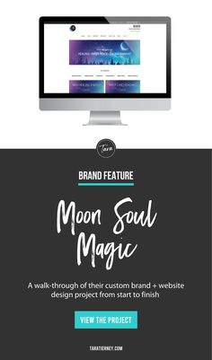 A walk through of my branding and website design project for Moon Soul Magic. An online resource for healing crystals and stones, jewelry with purpose, reiki healing, card readings, and spiritual growth. Click through to view the project from start to finish! #branding #brandinspiration #brandinspo #branddesigner #websitedesigner #websitedesign #graphicdesign #graphicdesigner #entrepreneur #smallbusiness #spiritualentrepreneur Images For Facebook Profile, Branding Portfolio, Sign Up Page, Custom Website, Social Media Pages, Online Entrepreneur, Card Reading, Healing Crystals, Spiritual Growth