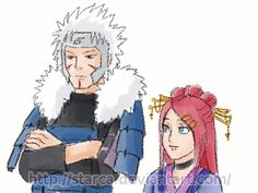 Commission: Tobirama and Umeko (part 1) by starca