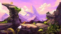 Ilustraciones de video juegos retro por Daniel Bogni