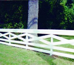 criss cross fence design | RAIL: CUSTOM CRISS CROSS (w/ Cap Board)
