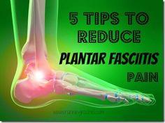 Training Injured: 5 Tips to Reduce Plantar Fasciitis Pain