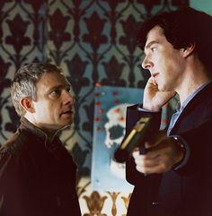 just a normal day on 221b, Baker Street