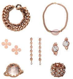 Rose Gold Jewelry....is coming back in style!