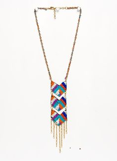 """noonday """"this way"""" necklace"""