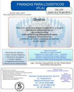 Taller: Finanzas para logísticos | Junio 13 y 14 del 2014