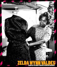 FIRST AFRICAN AMERICAN FASHION DESIGNER – ZELDA WYNN VALDES