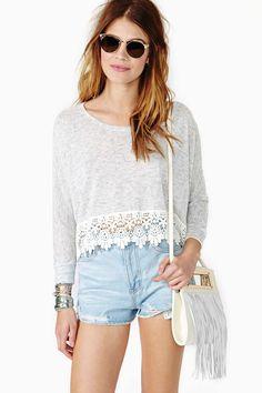Midsummer Crop Knit