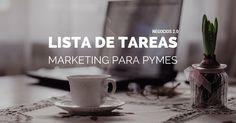 Lista de tareas de marketing para pymes: mantén tu negocio al top. #DRMSocialMedia #SocialMedia #Emprendimiento #MarketingDigital