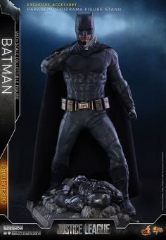 """【Justice League - scale Batman (Deluxe Version) Collectible Figure】 """"People said the Age of Heroes would never come again."""" – Wonder Woman Shortly after the release of the long-awaited blockbuster by DC Comics, Justice League has generated huge re Justice League 1, Batman Collectibles, Batman Mask, Alien Queen, Mighty Ape, Xenomorph, A Team, Superman, Dc Comics"""