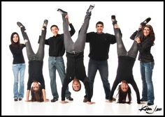 Fun Family Pictures. #family #FamilyPortraits http://www.kimjew.com