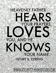 Hold Onto This Journey : Heavenly Father Looks Over Us