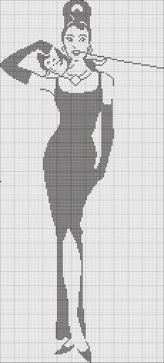 Gallery.ru / Fotoğraf # 144 - Arşiv (25) - Olgakam Simple Cross Stitch, Cross Stitch Charts, Cross Stitch Designs, Cross Stitch Patterns, Crochet Chart, Filet Crochet, Cross Stitching, Cross Stitch Embroidery, Monochrome