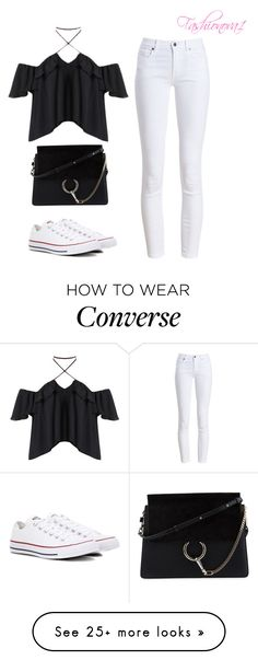 """""""And now I'm better off"""" by fashionova1 on Polyvore featuring Barbour, Chloé and Converse"""