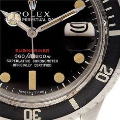 Vintage-Red-Submariner-1680-copyright swiss watch expo http://lovetime.fr/2013/04/17/rolex-story-la-submariner-cette-legende/
