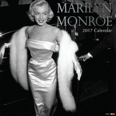 Marilyn Monroe 2017 16-month wall calendar, published by The Gifted Stationery Company, 2016.