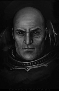 A little sketch/speedpaint of Talos. Talos Valcoran also known as the Soul Hunter, is a member of First Claw, Company, Night Lords Legion. Night Lords, Ork Warboss, Character Inspiration, Character Art, Warhammer 40k Rpg, Chaos Lord, Monochrome, Space Marine, Sci Fi Art
