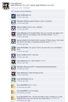 Fairy Tail on Facebook!