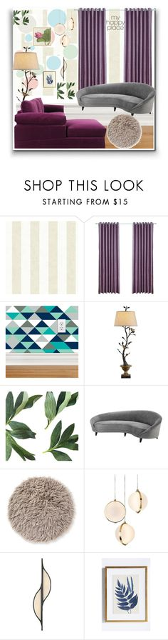 """""""Homa sweet home: my happy place"""" by eldinreham ❤ liked on Polyvore featuring interior, interiors, interior design, home, home decor, interior decorating, Currey & Company, Eichholtz, Baroncelli and Kelly Wearstler"""