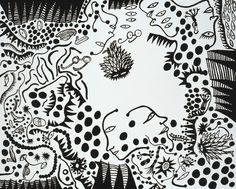 Yayoi Kusama,Whitney Museum,Exhibition,Art,Illustration,插画,展览,艺术,草间弥生