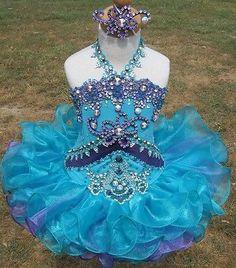 Wendy Crim Glitz Pageant Dress