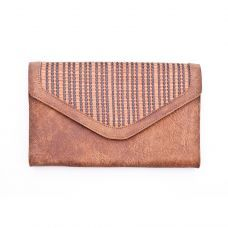The envelope purse -Brown