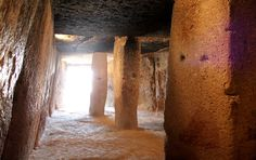 Cueva de Menga, Antequera.