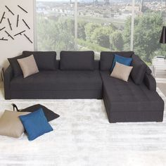 Vetro Sofa Bed R-Facing Chaise