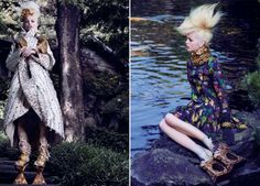 'The Secret Chatter Of Golden Monkeys' Daphne Groeneveld by Mark Segal for Vogue Japan November 2012