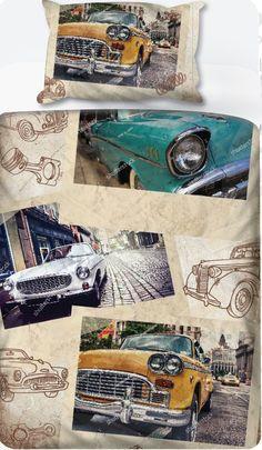 Vintage Cars 01 - Duvet Set – LCV Designs & Decor