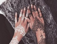 henna tattoo | Tumblr Más