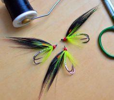 Irish salmon flies