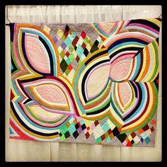 rgb modern by Sherri Lynn Wood #quiltcon http://bitsandbobbins.com/