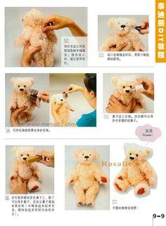 Teddy Bear DIY tutorial